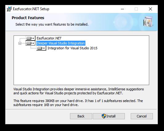 Eazfuscator.NET Visual Studio Integration Setup